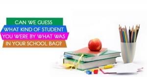 Can We Guess What Kind Of Student You Were By What Was In Your School Bag?