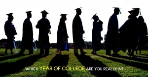 Which Year of College Are You Really In?